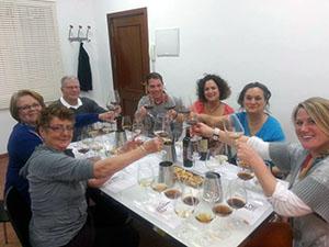 Weinprobe Sevilla